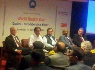 World Quality Day Function at India Habitat Centre, New Delhi on November 15, 2013